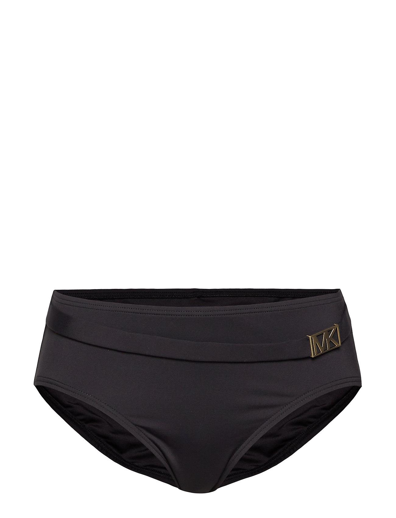 Michael Kors Swimwear BELTED BTM - BLACK