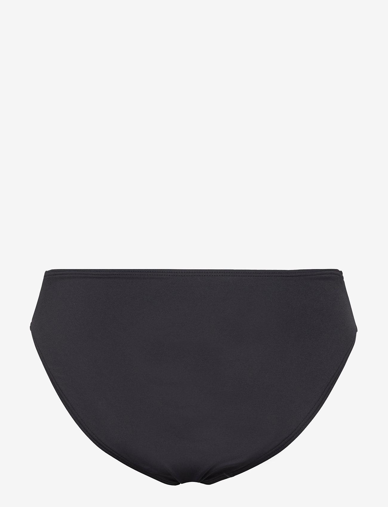 Michael Kors Swimwear - Solids High Waisted Bottom - bikinibroekjes - black - 1