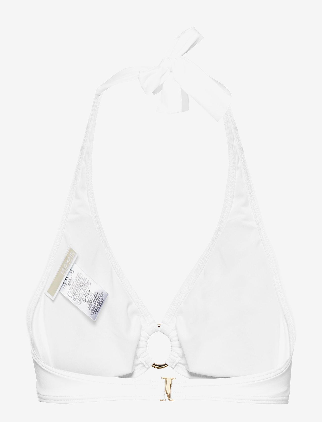 Michael Kors Swimwear - HALTER TOP - bikinitops - white - 1