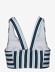 Michael Kors Swimwear - CROP TOP - bikinitops - black multi - 1