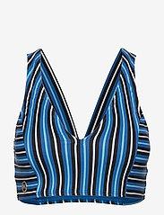 Michael Kors Swimwear - CROP TOP - bikinitops - vintage blue - 0