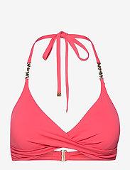 Michael Kors Swimwear - TWIST TOP - bikinitops - geranium - 0