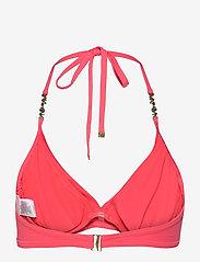 Michael Kors Swimwear - TWIST TOP - bikinitops - geranium - 1