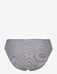Michael Kors Swimwear - Mini Stripe High Waistd Bikini Bottom - bikinibroekjes - new navy - 1
