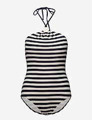 Michael Kors Swimwear - HI NECK 1PCS - badpakken - new navy - 0
