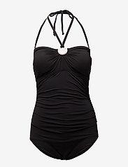 Michael Kors Swimwear - SHIRRED 1PCS - badpakken - black - 2