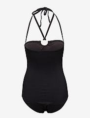 Michael Kors Swimwear - SHIRRED 1PCS - badpakken - black - 3