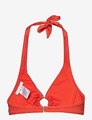 Michael Kors Swimwear - HALTER TOP - bikinitops - terracotta - 1