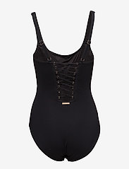 Michael Kors Swimwear - LACE UP 1PCS - badpakken - black - 1