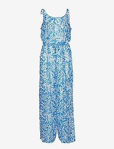 JUMPSUIT - GRECIAN BLUE