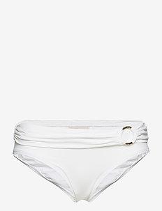 BIKINI BTM - bikini bottoms - white