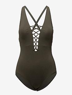 X-BACK 1PCS - swimsuits - ivy