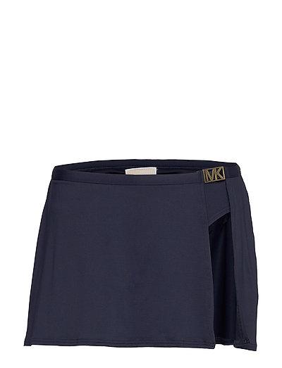 Skirt Btm Bikinihose Blau MICHAEL KORS SWIMWEAR