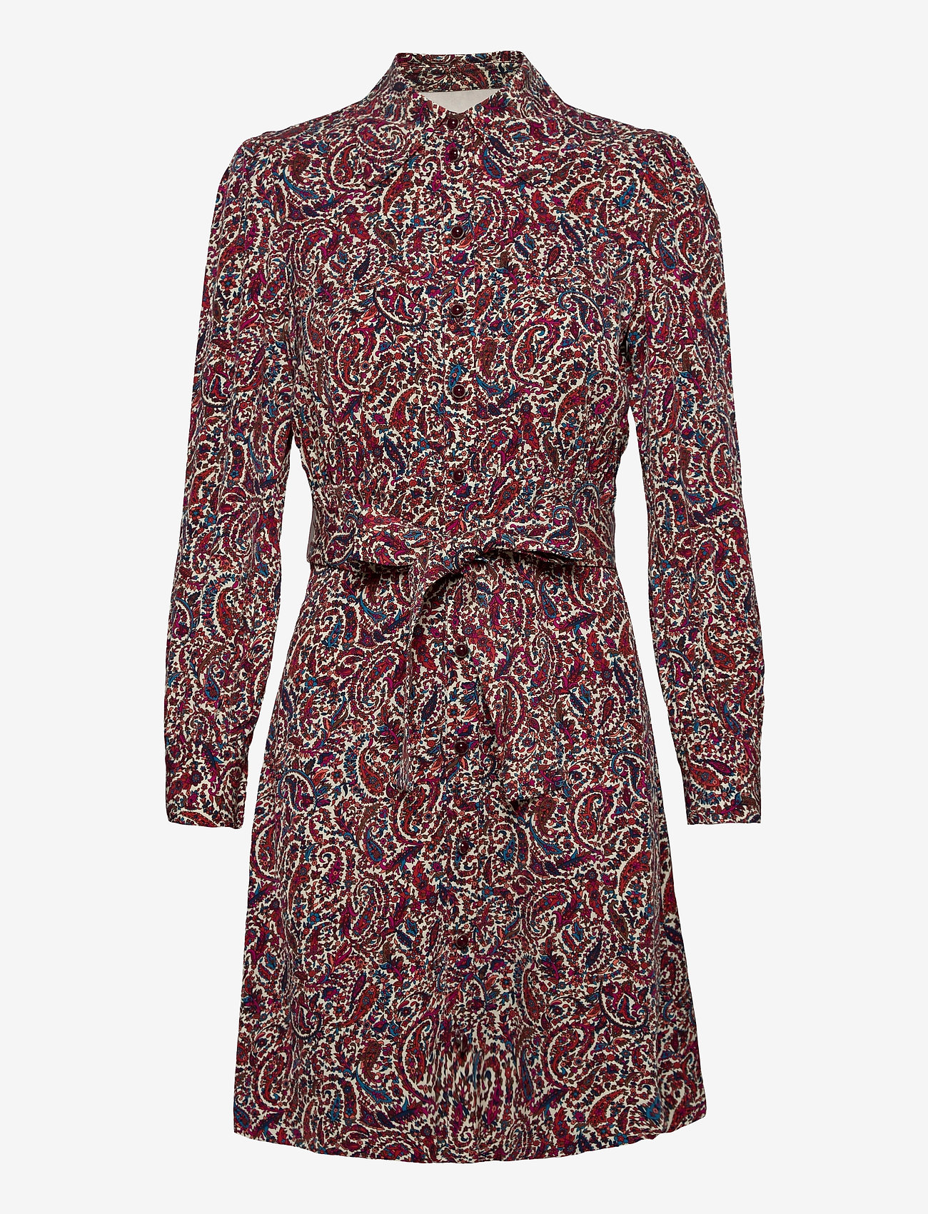 Michael Kors - LUSH PSLY GARDN DRESS - alledaagse jurken - dark ruby - 0