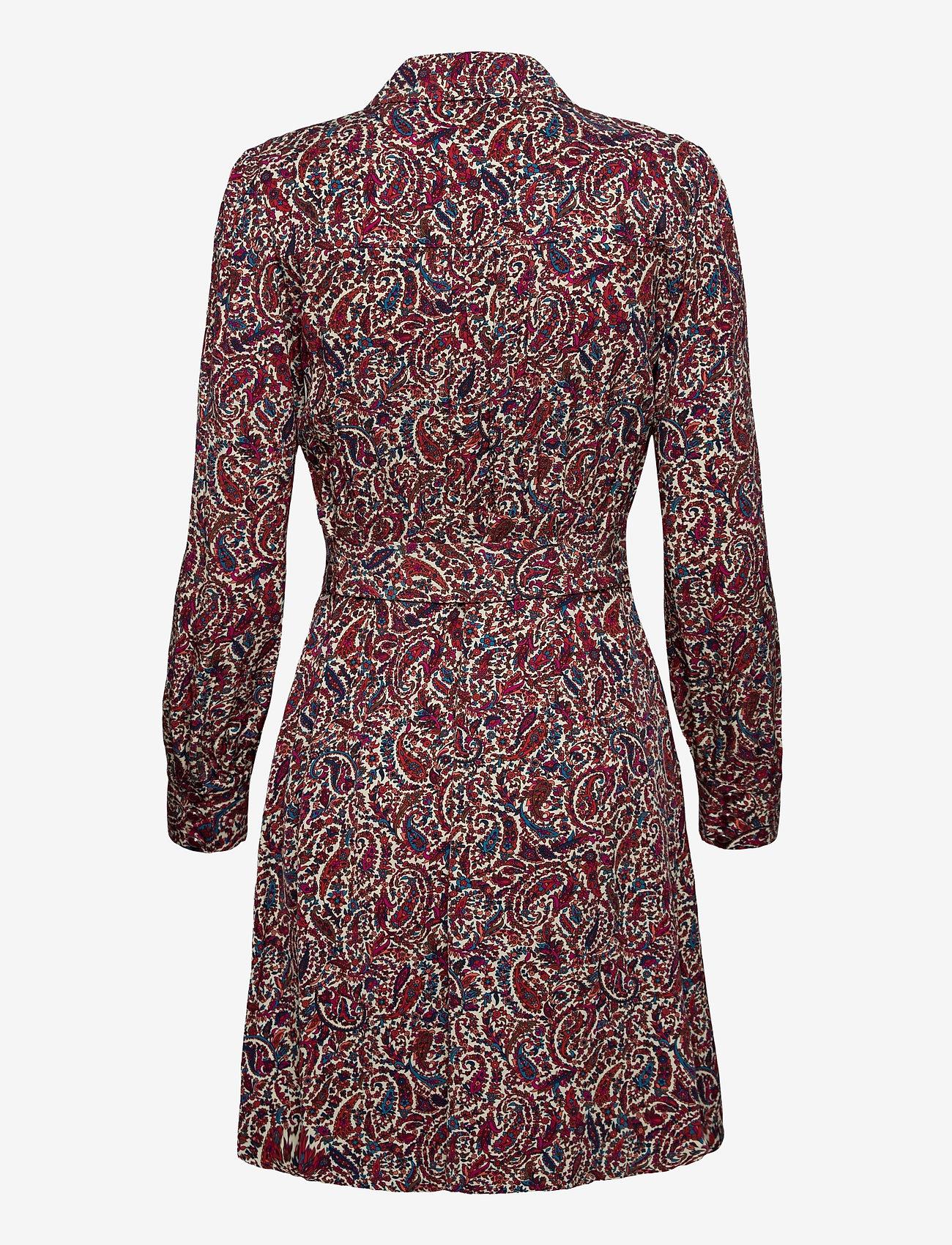 Michael Kors - LUSH PSLY GARDN DRESS - alledaagse jurken - dark ruby - 1