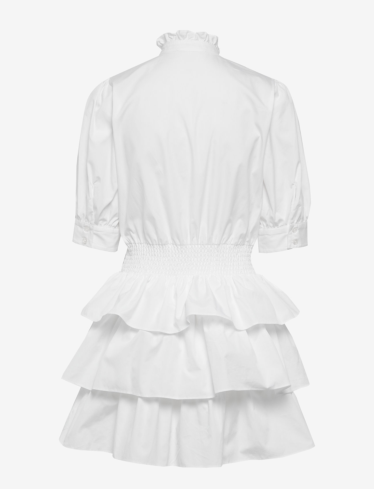 Michael Kors - SOLID POPLIN TIER DRS - korte jurken - white - 1