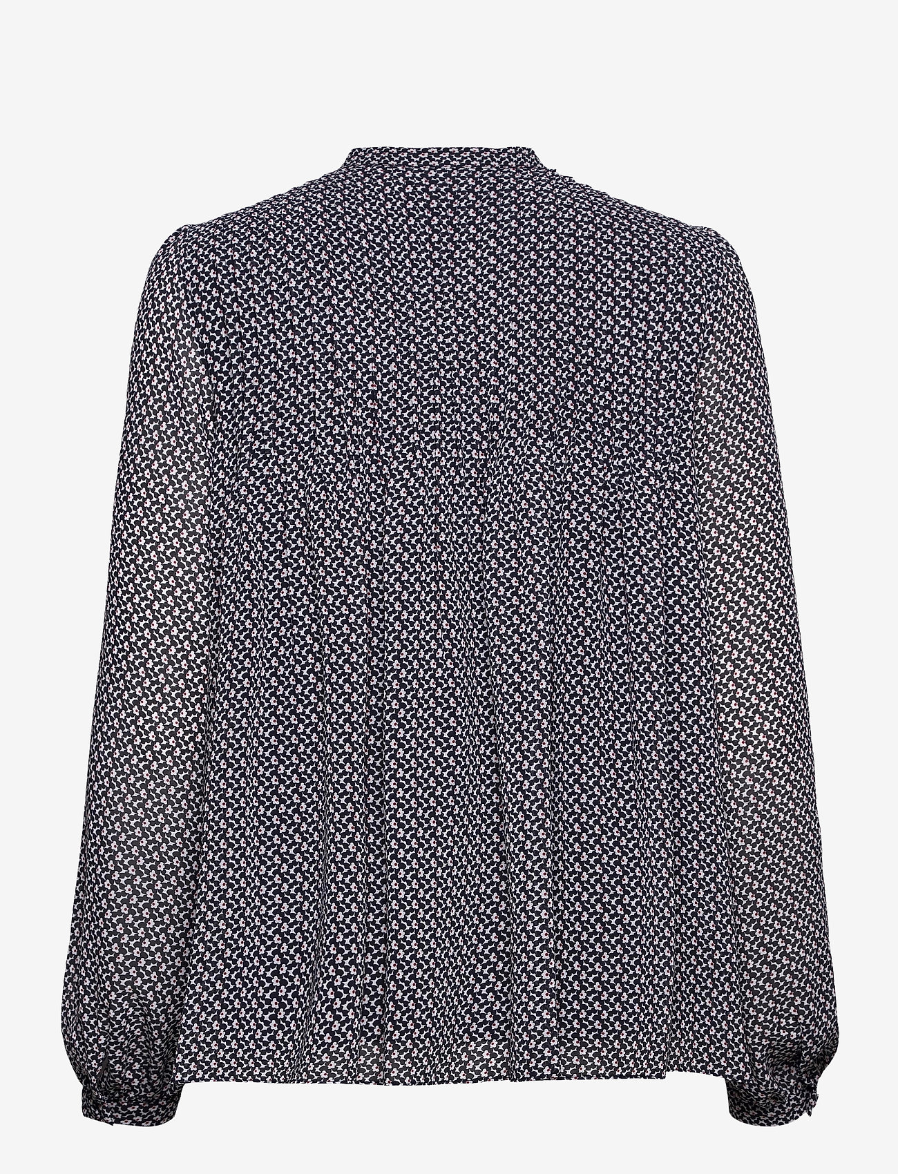 Michael Kors - MINI FLORAL LS TOP - blouses met lange mouwen - mdntbl multi - 1