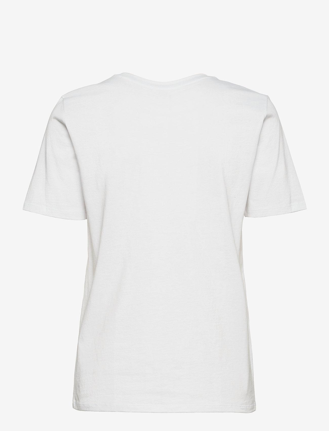 Michael Kors - KORS STUDDED CLASSIC TEE - t-shirts - white - 1