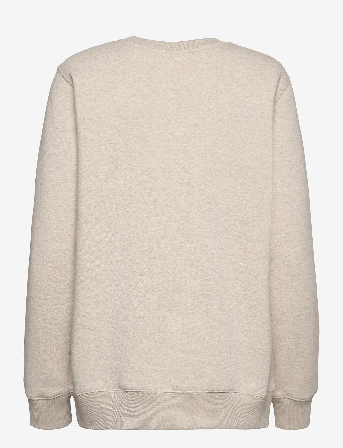 Michael Kors - UNISEX TONAL SWEATSHIRT - sweatshirts en hoodies - dune heather - 1