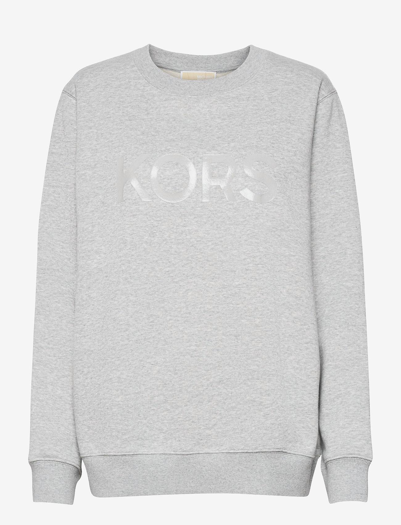 Michael Kors - UNISEX TONAL SWEATSHIRT - sweatshirts en hoodies - pearl hthr - 0