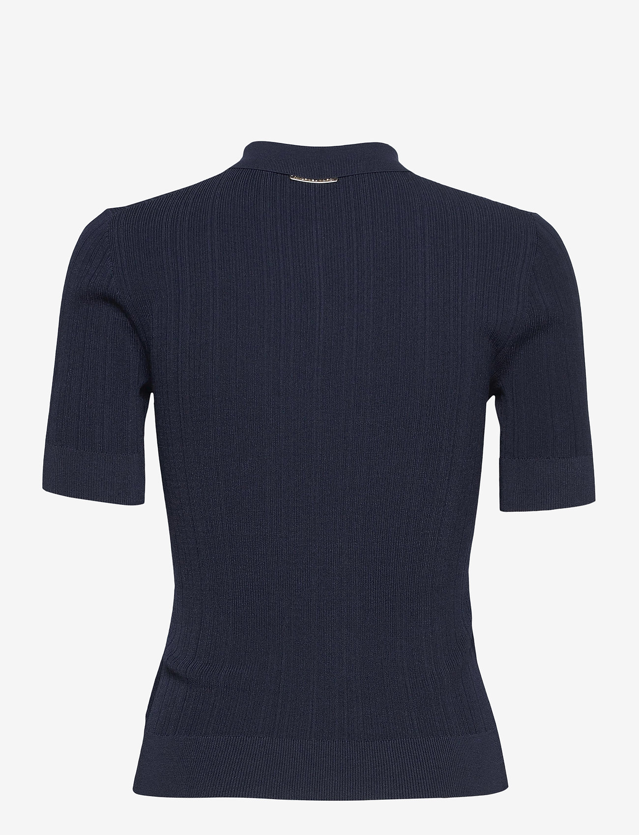 Michael Kors - BUTTON POLO SWEATER - polohemden - midnightblue - 1