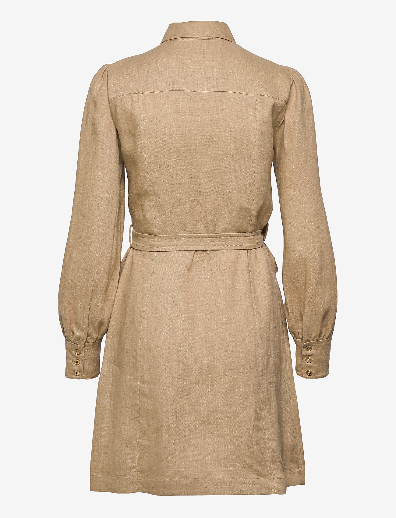 Michael Kors - HEMP UTILITY MINI DRESS - blousejurken - khaki - 1