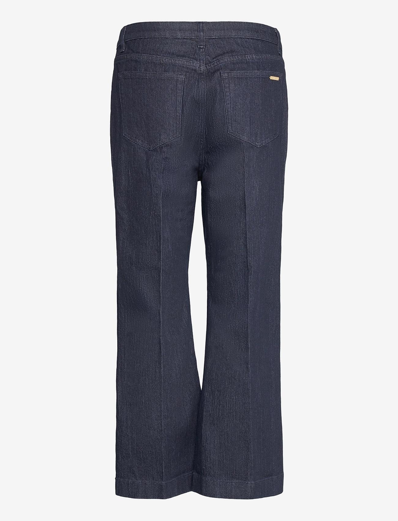 Michael Kors - CROPD KICK SAILOR JEAN - uitlopende jeans - indigo - 1