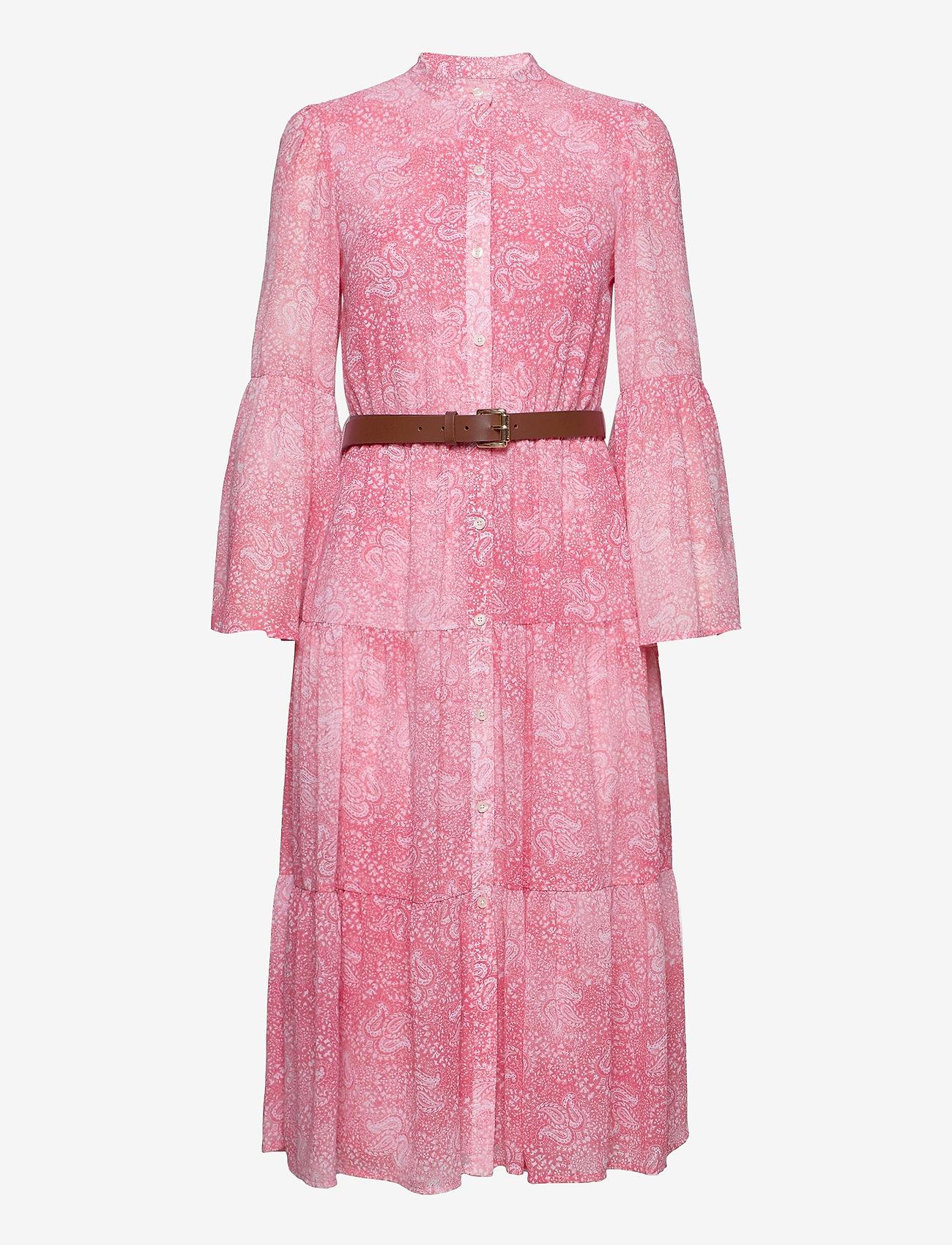 Michael Kors - SUNBLCHED MIDI DRESS - midi jurken - geranium - 0