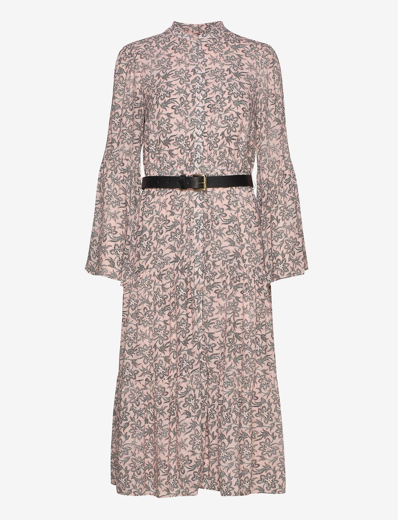 Michael Kors - LEAFY MEDL MIDI DRESS - alledaagse jurken - powder blush - 0