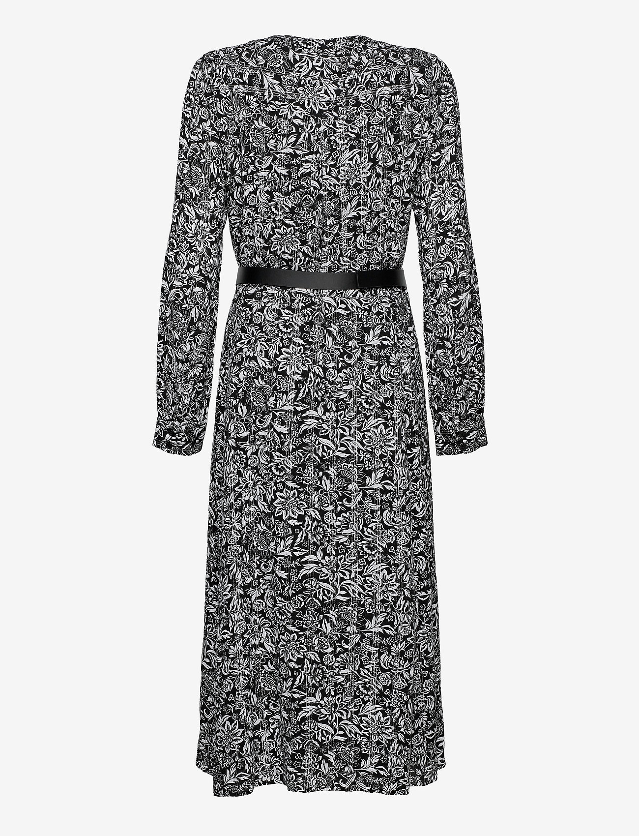 Michael Kors - FLORAL KATE DS - alledaagse jurken - black/white - 1