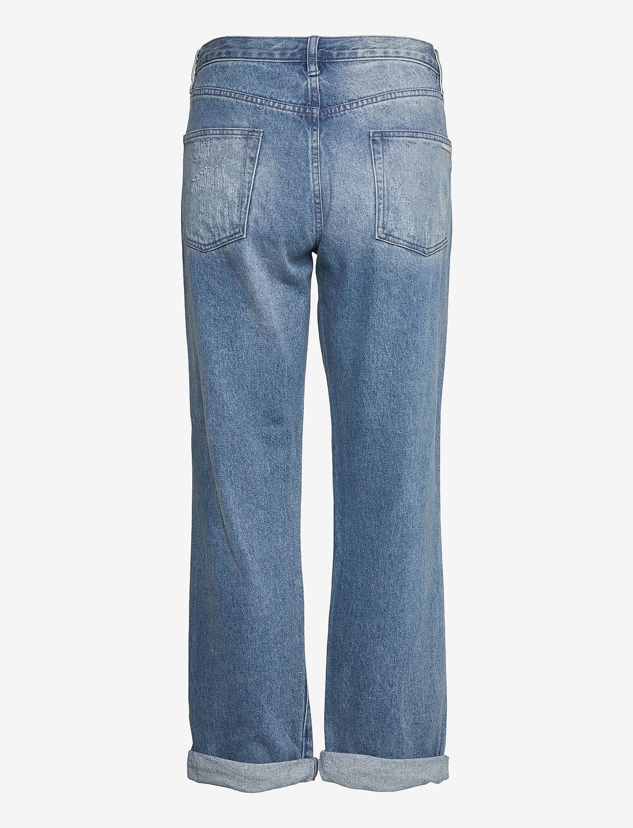 Michael Kors - UNISEX  DNM PNT DISTRESSD - straight jeans - authenticblu - 1