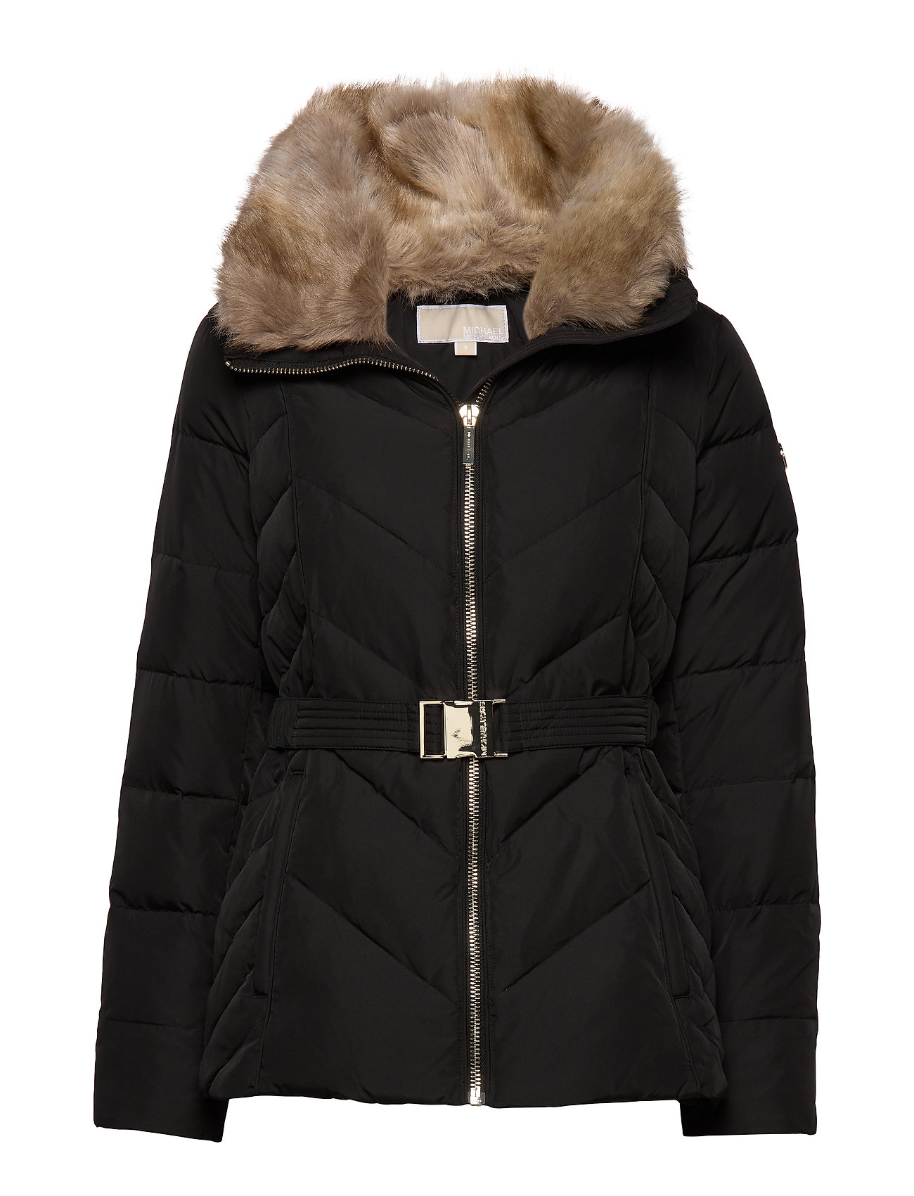 Michael Kors FITTED HEAVYDOWN PUFFER - BLACK