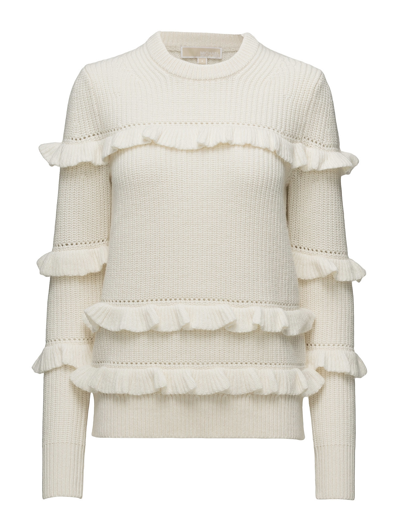 Michael Kors RIB RUFFLE SWEATER