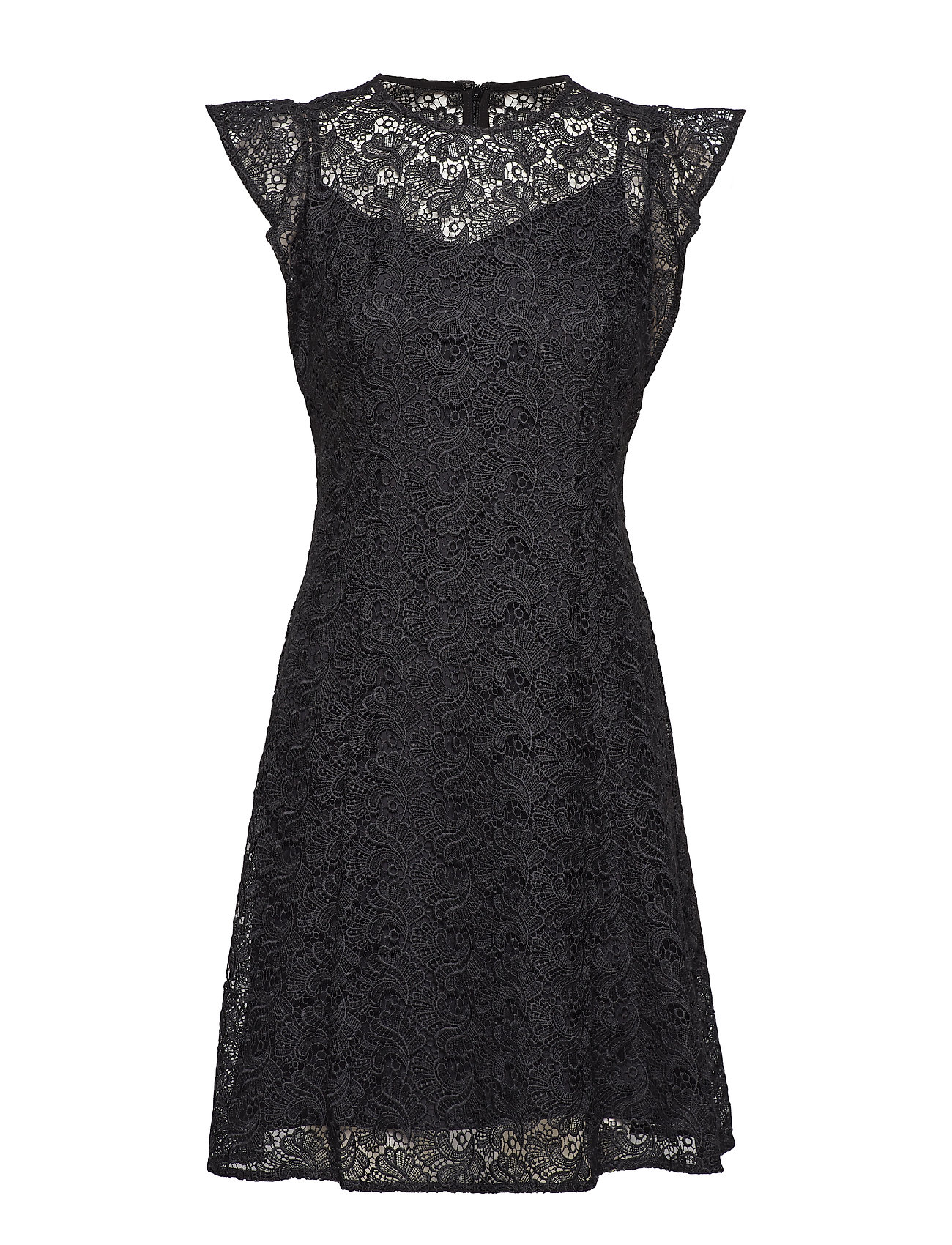 Image of Lace Flounce Slv Dres (3073374451)