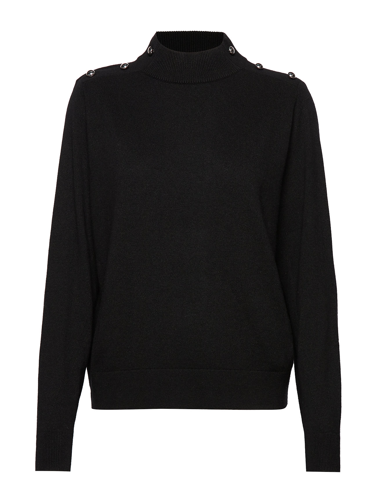 Michael Kors DOME TNK LS SWTR - BLACK