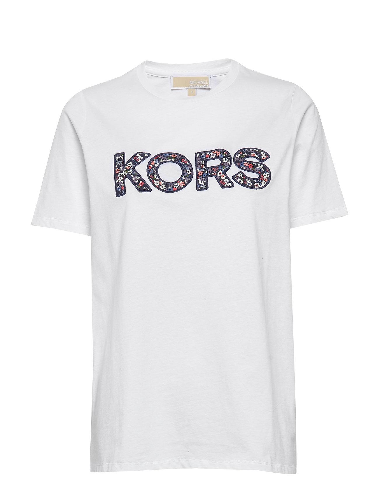 Michael Kors KORS LOGO T-SHIRT - WHITE