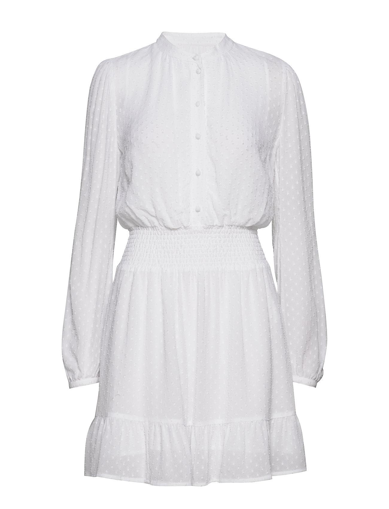 Michael Kors CLIP DOTS JQD DRESS - WHITE