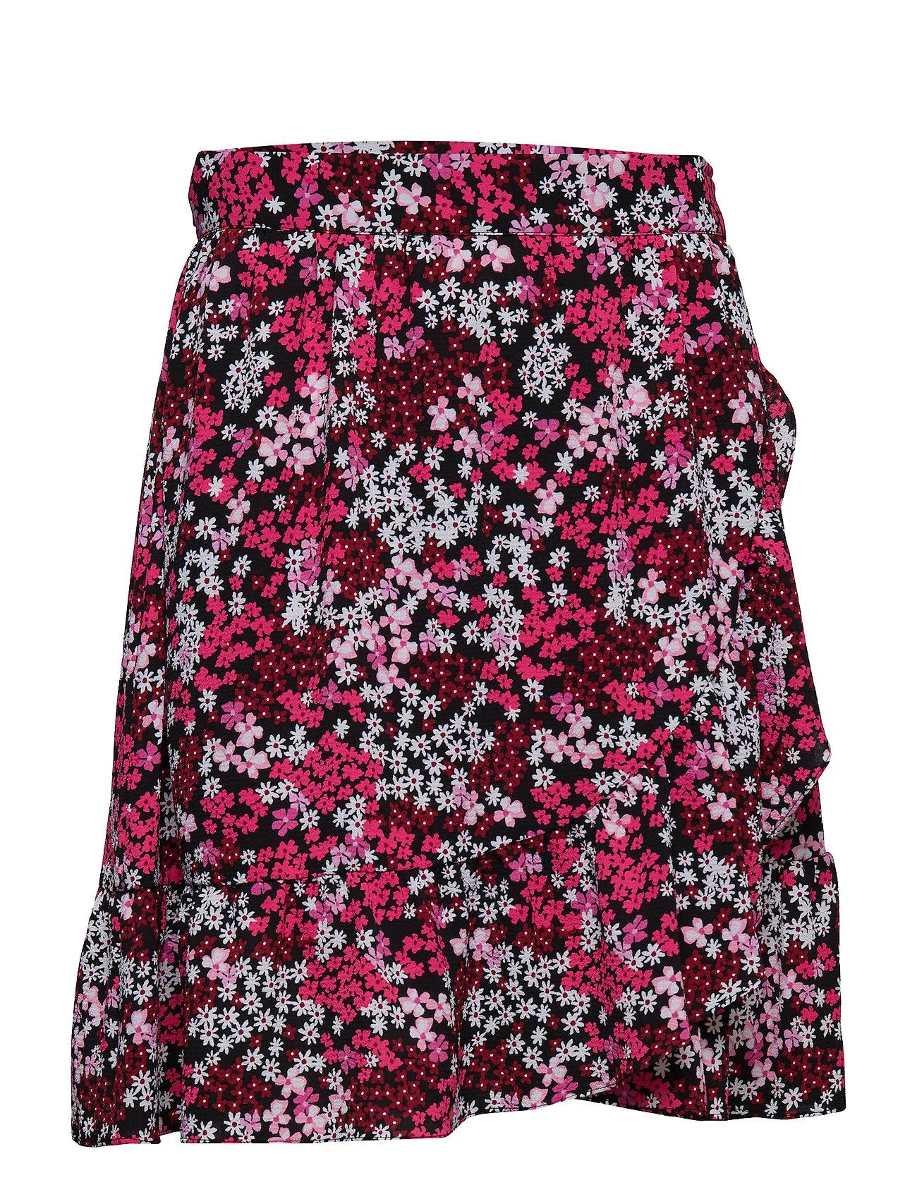 b0cf5a4f5 Mod Garden Wrap Skirt (Blk/eltrcpnk) (£87.75) - Michael Kors ...