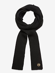 Michael Kors - MK PATCH RIB SCARF - sjaals - black/gold - 0