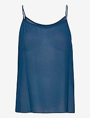 Michael Kors - PLEATED TOP - blouses met lange mouwen - river blue - 2