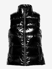 Michael Kors - SKI LOGO VEST PUFFER - vester - black - 1