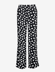 Michael Kors - PETAL PASSION PR PANT - broeken med straight ben - black - 0