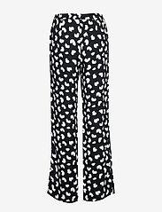 Michael Kors - PETAL PASSION PR PANT - broeken med straight ben - black - 1