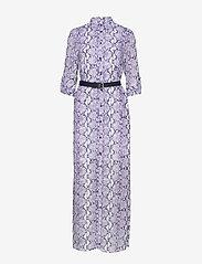 Michael Kors - CORAL MOSAIC SHIRT DR - blousejurken - lavendermist - 0