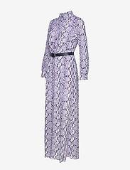 Michael Kors - CORAL MOSAIC SHIRT DR - blousejurken - lavendermist - 6