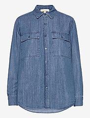 Michael Kors - CHAMBRAY BTN DN BF SHIRT - overhemden met lange mouwen - vtg cs wsh - 0