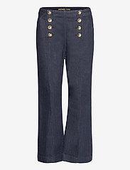 Michael Kors - CROPD KICK SAILOR JEAN - uitlopende jeans - indigo - 0