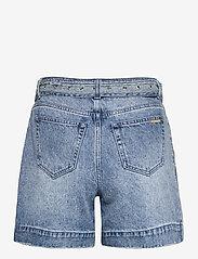 Michael Kors - PLEATED BELTED DNM SHORT - korte jeansbroeken - vtg cs wsh - 1