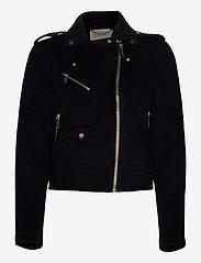 Michael Kors - DOUBLE FACE MOTO - wool jackets - black - 1