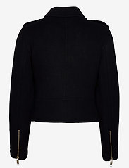 Michael Kors - DOUBLE FACE MOTO - wool jackets - black - 2